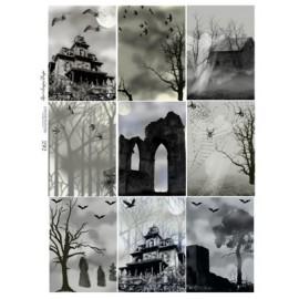 Halloween ATC Backgrounds 292