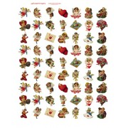 Valentine Bottlecaps 498