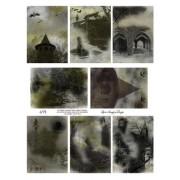 Spooky ATC Backgrounds 691