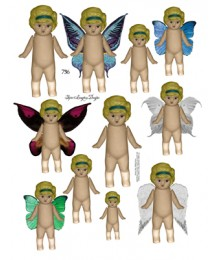 Charlotte Fairy Dolls 736