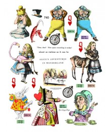 Alice in Wonderland 740