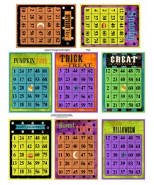 Halloween Bingo ATCs 796