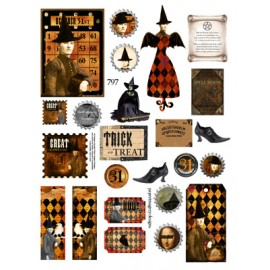 Altered Art Witch 797