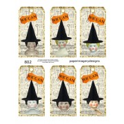 Doll Tags 802