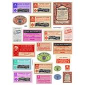Poison Labels 820