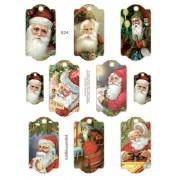Santa Tags 824