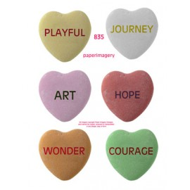 Candy Hearts 835