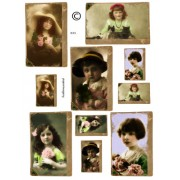 St Patricks Day Vintage Girls 851