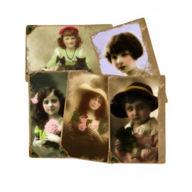 St Patricks Day Vintage Girls 851