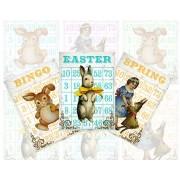 Easter Bingo Cards 863