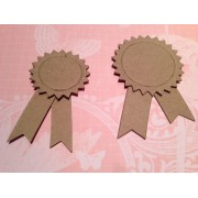 Chipboard Prize Ribbon