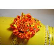 Bright Orange Shabby