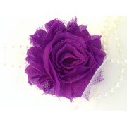 Grape Shabby Flower