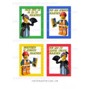 Lego Movie Valentines