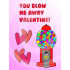 Bubble Gum Valentines Cards