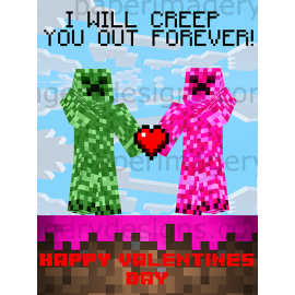 Creeper Valentines
