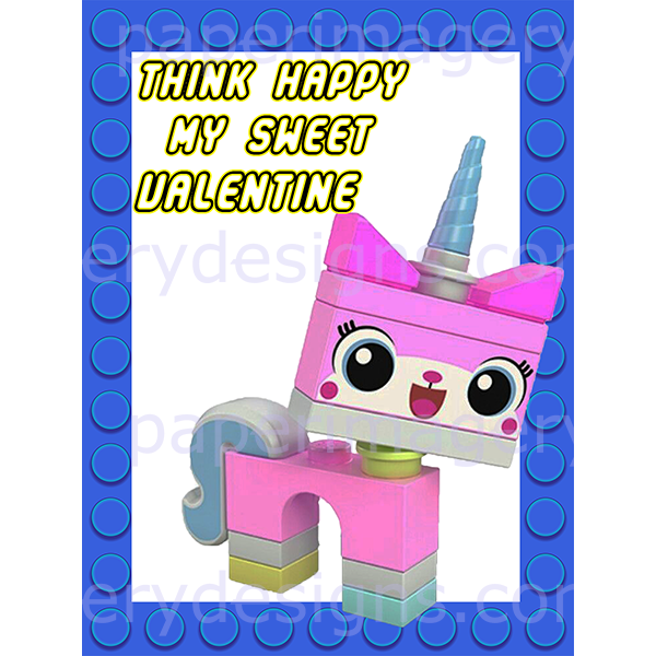 unikitty valentines for  5 00